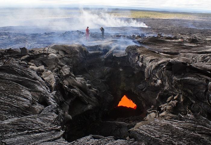 Вулкан на Гавайях