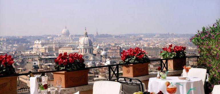 Кафе в Риме
