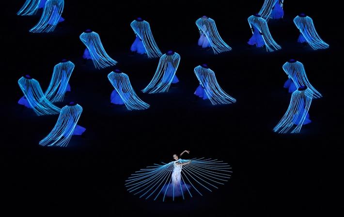 открытие зимней олимпиады в Сочи