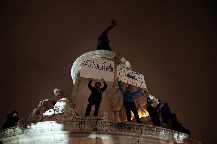 фото Терактов в Париже