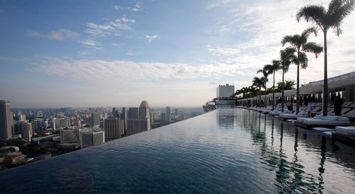 Бассейн Marina Bay Sands