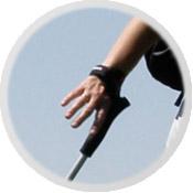 пример работы руки при ходьбе