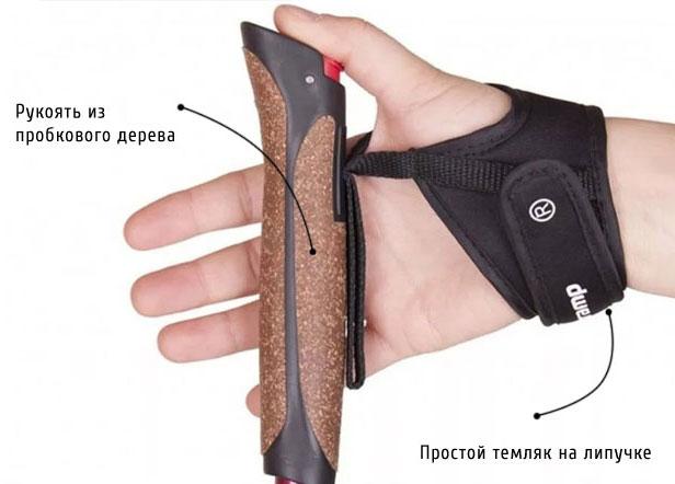 Рукоять палки для норвежской ходьбы
