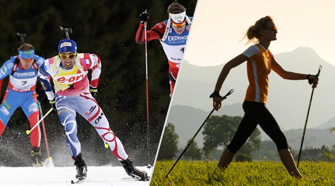 Отличия палок для скандинавской ходьбы от лыжных