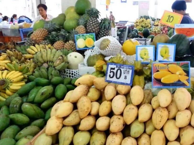 Рынок продуктов в Тайланде