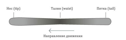ширина талии