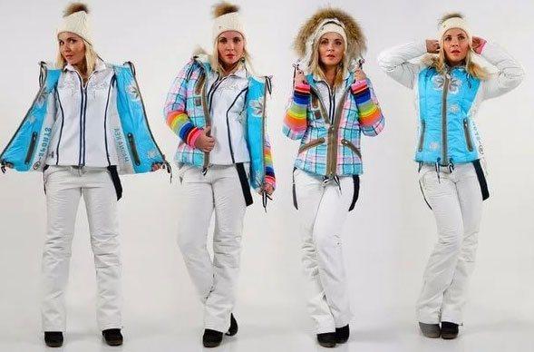 Горнолыжная одежда - секреты выбора костюма для горных лыж 61603c5d604
