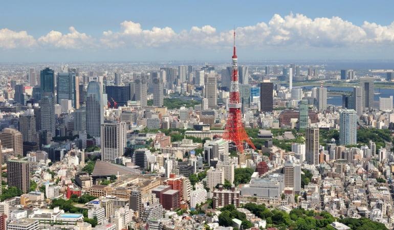телевизионная башня в Токио