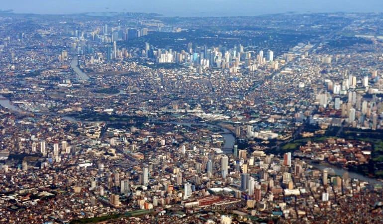 Манила - столица Филиппин
