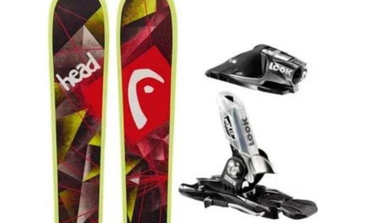 горные лыжи для фристайла