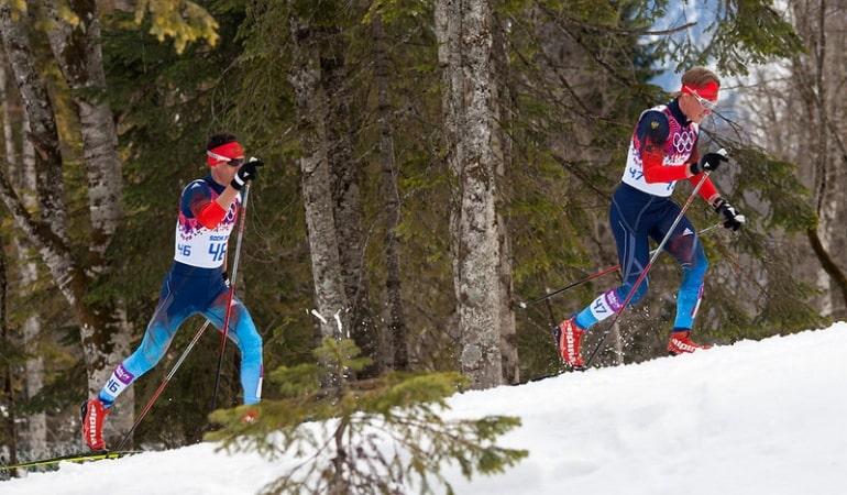 Скорость на беговых лыжах