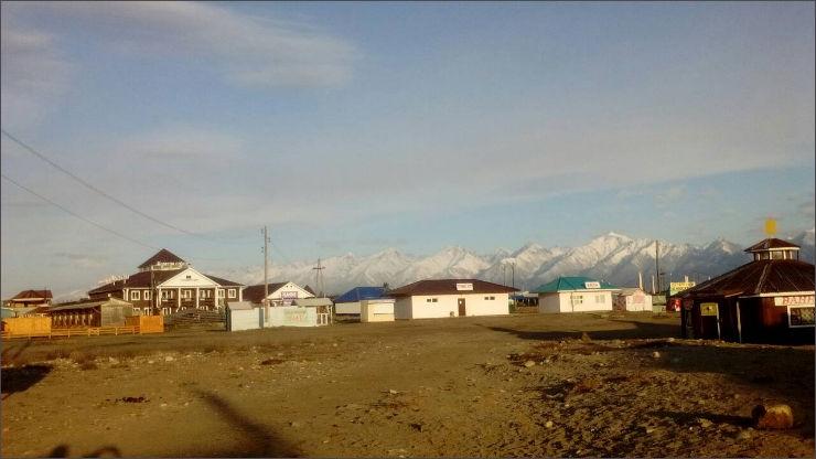 Поселок Жемчуг, Тункинская долина
