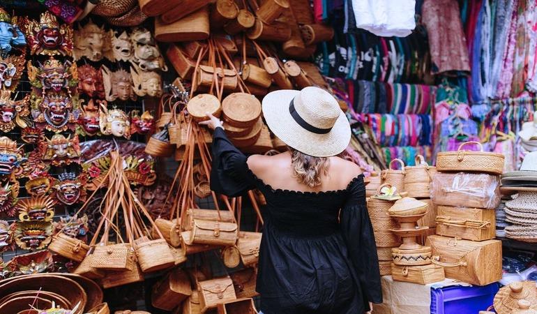 Покупки на Бали