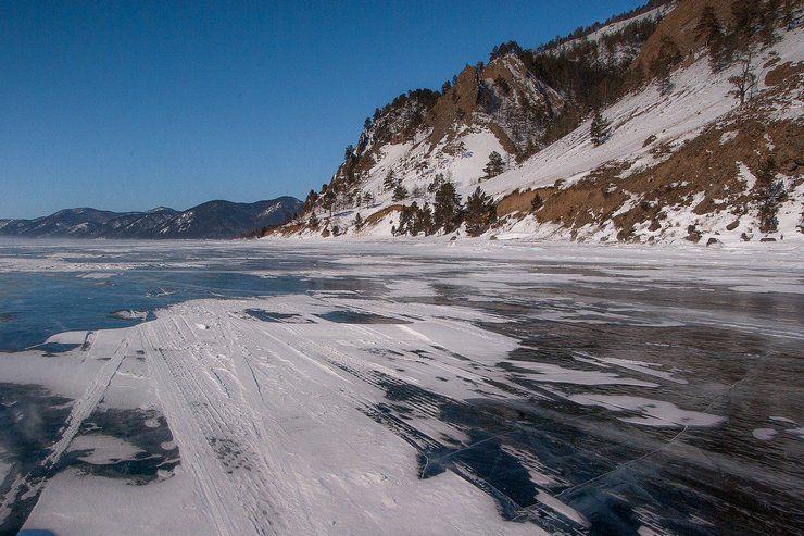 Зима Байкал